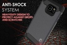GALAXY NOTE 5 CASE PUNKCASE GALACTIC SLIM ARMOR TEMPERED GLASS ! / Galaxy Note 5 Case PunkCase Galactic Black Series for Galaxy Note 5 Slim Protective Armor Soft Cover Case w/ Tempered Glass Protector Lifetime Warranty Made with a slim full TPU body for heat reduction and shock absorption. Maintains the aesthetics of your phone while keeping it protected Ultimate protection with precision cut outs for easy access to all ports and jacks but without the bulkiness Glass SHIELD 9H 0.33mm thick tempered glass screen protector, unattached.