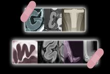 Greeting cards / X-ray designed greeting cards