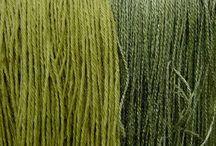 Teinture laine et tissu