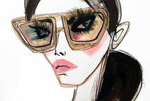 ilustradores moda