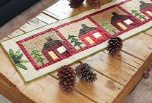 Quilted table runners