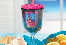OWL DRINK TO THAT / Cups, flasks, wine accesories, pitchers, coasters, coozies, teapots, etc...with owls on them.  / by Kat Matthews