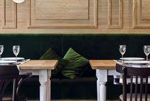 restaurants we want to visit / good restaurant design encourages good eating.