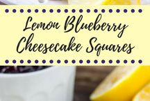 Lemon blueberry cheese cake