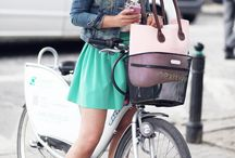 Outfit - Obag, bycicle,