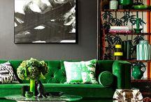 Déco living room / Aqua jungle