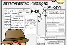 Thanksgiving Reading Activities / Ideas, resources and printables for reading practice with a Thanksgiving theme.