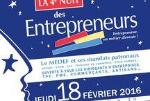 Nuit des entrepreneurs / Soirée de la 4ème nuit des entrepreneurs