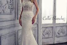 Jewel Neckline Bridal Gowns