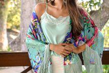 Kimonos! / Kimonos lindos! Impossível querer um só! www.afagoshop.com.br