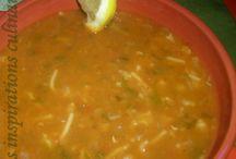 soupes maghreb salées / recettes Maghreb salées