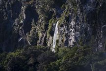 Fiordland Waterfalls / A selection of spectacular waterfalls that can be seen with Real Journeys