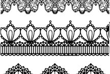 Lace draw