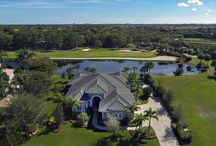 SOLD: 13060 Marsh Landing / Impeccable home custom built in 2013. This most desirable great room floor plan opens through impact resistant sliding glass doors to a spectacular swimming pool and patio that overlook a lake and the 6th hole of the Pete Dye Championship golf course.