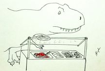 T Rex Jokes / by Shan Mo