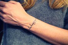 Bracelet tattoos