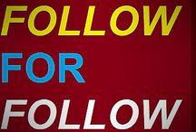 Follow for Follow / follow