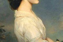 L'ancienne cour -Franz Xaver Winterhalter- Carmen Duchesse de... -