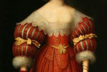 women's portraits 1625-1650