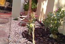 Ideas jardín y pasillo