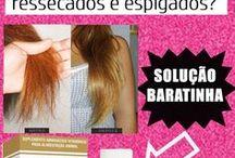cuidados com os cabelo