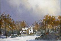 Art: Thomas Shaller, landscape artist