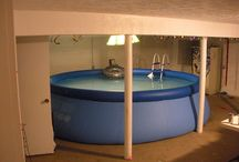 Swimming Pools for Basements / Are you swimming in your basement? Swimming in the basement not because of leaking water but in an actual swimming pool that is!