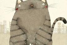 Kittehs Illustrated / The Feline in Art