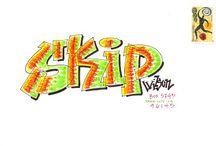 grafitti & hippie styles