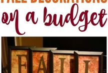 Budget DIY / You don't need to be rich to get crafty!