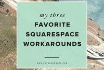 Squarespace / by Megan Powell - Brand Designer