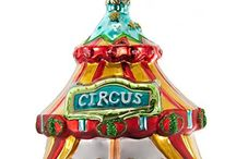 Holiday Circus Celebration / Circus Theme Christmas Decor and Entertaining