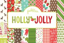 Holly Jolly | Pebbles Inc. / Christmas collection from @PebblesInc winter 2016.