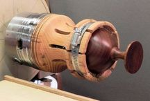 Woodturning and lathe