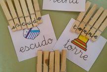 Pinzas de madera-Ganchitos