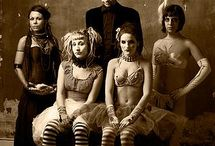 Vintage Circus / One of my favorite parts of history is the old circus troupes that used to traverse the globe with their crew of misfits and beautiful disasters.