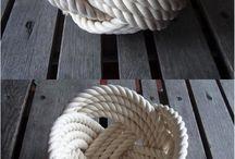 výrobky z provazu