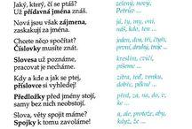 čeština- slovní druhy