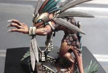 Warhammer Fantasy Lizardmen / My ongoing search for inspirational paint schemes for my Lizardmen army. http://www.spruegrey.com/tag/lizardmen