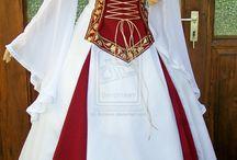Keskiaika-, fantasia-, historialliset puvut