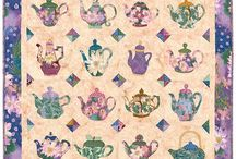 •♥✿♥• Quilting ~ Tea related  •♥✿♥•