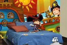 Fotomurales infantiles / Fotomurales para decorar cuartos de niños y niñas