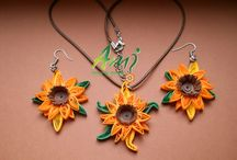 My quilled creations / Quilled jewellery made by me