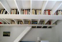 Ceiling Storage Ideas / by Vane