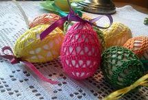 Szydełko - Wielkanoc / Szydełkowe ozdoby wielkanocne