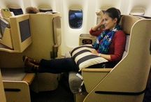 Business Class Travel / Exciting times at the pointy end of the plane.