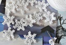 Schneeflocken häkeln