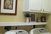 Laundry Room Ideas / This board is for future Reno of our Laundry room. So, Inspiration will be pinned here along with some helpful Laundry bits.