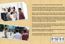 Testimonials from our students / Read about MFH International Institute from our students