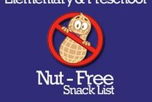 Nut-free ideas / Snacks and treats safe for school
